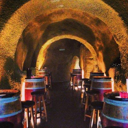 Hotel Hospederia de los Parajes: Wine Bar...magical!