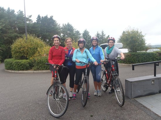 Aghadoe Heights Hotel & Spa: Ready for road!!