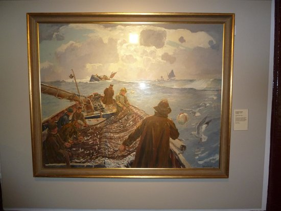 Time and Tide Museum: Painting by Roland Fisher