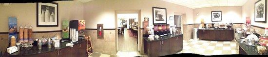 Hampton Inn & Suites Athens I-65 : Breakfast buffet
