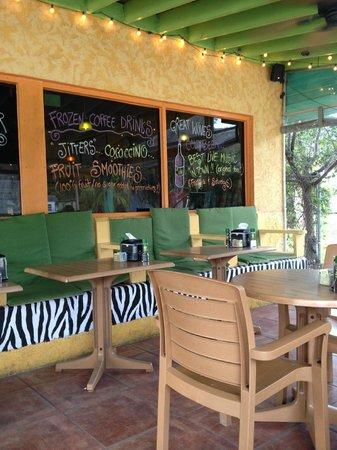 Fun & funky outdoor seating