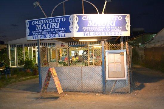 Chiringuito Mauri : ingresso chiringuito