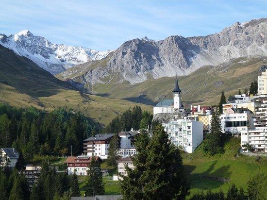 Hotel Altein: Aussicht Balkon 1