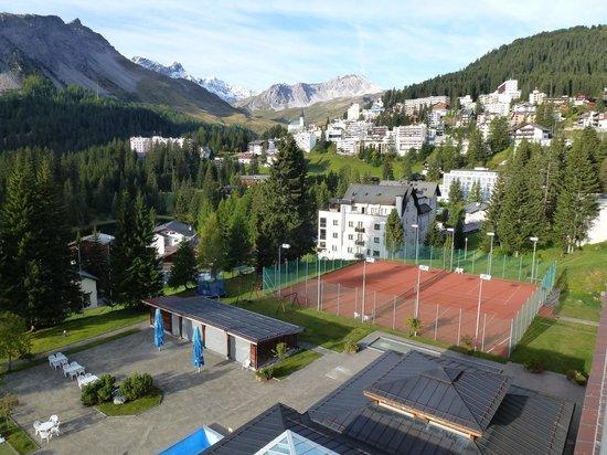 Hotel Altein: Aussicht Balkon 2