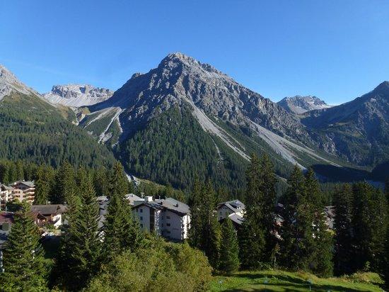 Hotel Altein: Aussicht Balkon 3