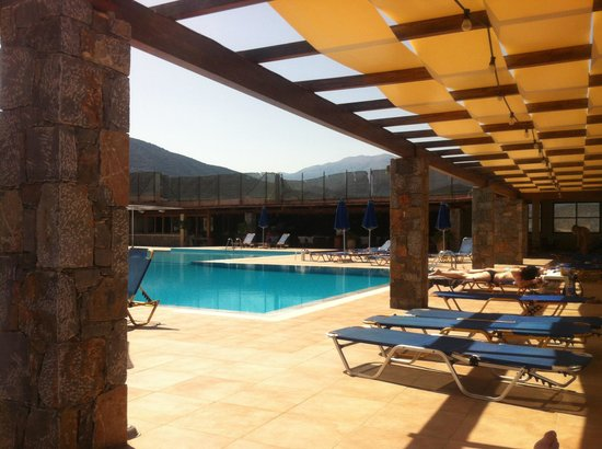 Miramare Resort & Spa: view from the Aegean pool