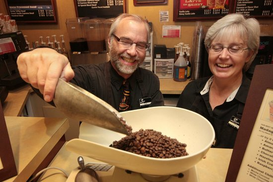 Gloria Jean's Coffees: Over 50 varieties and flavors of whole bean coffees