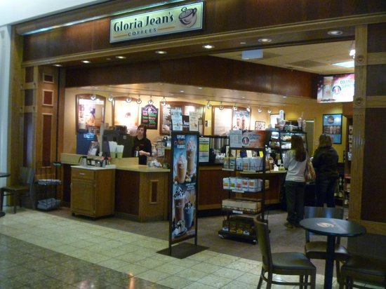 Gloria Jean's Coffees: Conveniently located inside Oakwood Mall