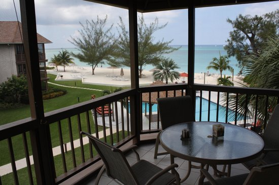 Plantana Condominiums: Unit 40 View from screened porch