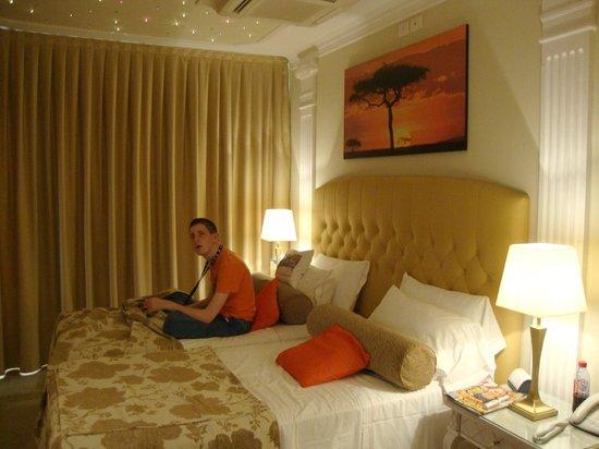 Sternenhimmel Bett junior suite mit sternenhimmel über dem bett picture of hotel