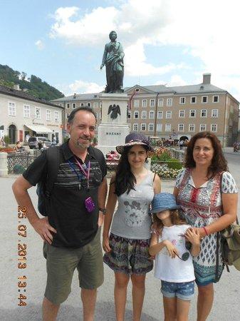 Salzburger Altstadt: PLaza de Mozart