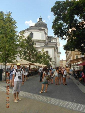 Salzburger Altstadt: Iglesai de la Universidad