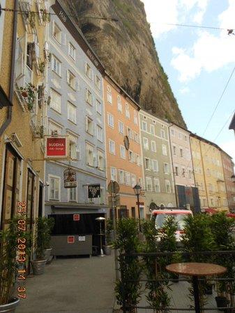 Salzburger Altstadt: Calle del mercado