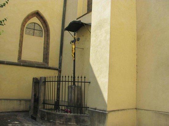 St. Castulus square: St Castulus crucifix