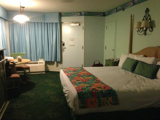 Disney S Caribbean Beach Resort Premium Room King Bed