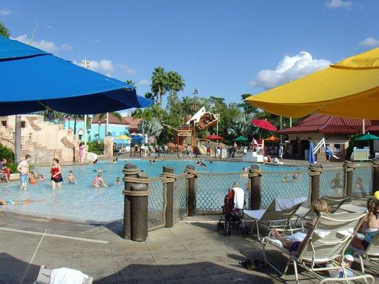 Disney's Caribbean Beach Resort: Main Pool area