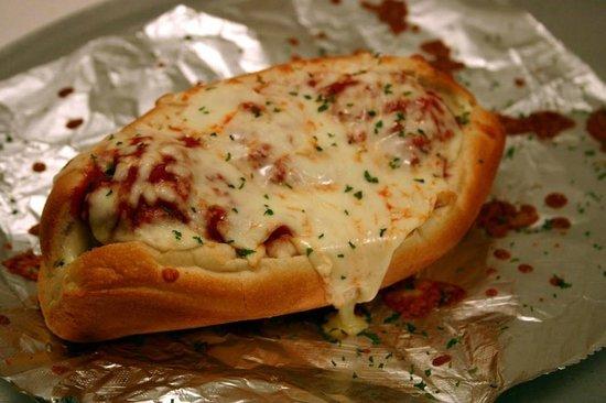 Rick's Cheese Steak Shop: Meatball Parm