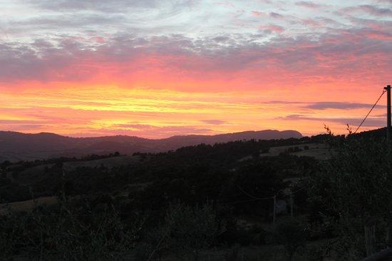 Agriturismo Le Gore : tramoto alle gore