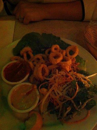 Cafe Luluc : Calamari!
