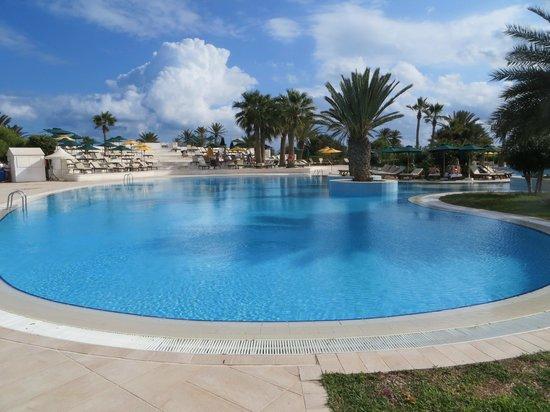 Djerba Plaza Hotel & Spa: vue piscine