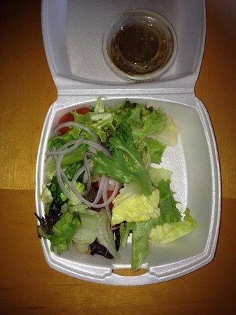 Vince and Tony's: house salad