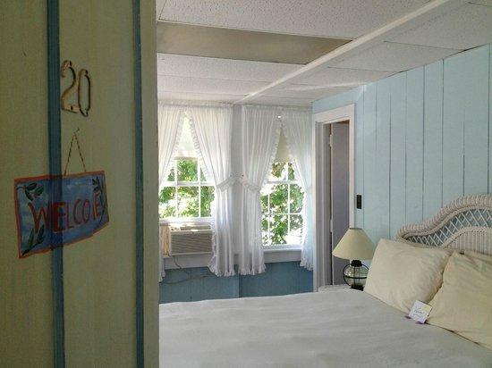 Pequot Hotel: O quarto no segundo andar