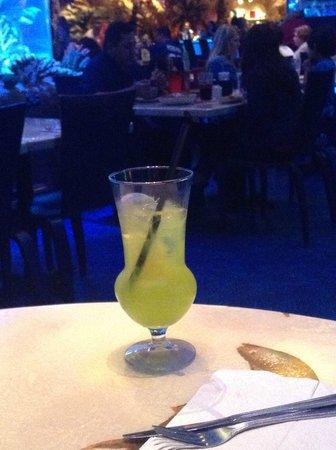 T-Rex Cafe: T-Rex souvenir (copo do drink)