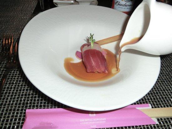 Azure Restaurant: アズーア風刺身