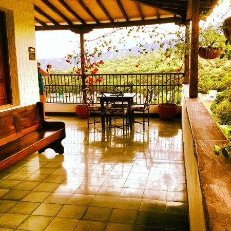 Hotel Mariscal Robledo : view from 2nd floor