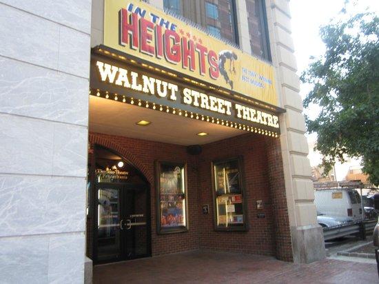 Walnut Street Theatre: Entrance to The Walnut Street Theater