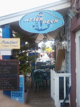 After Deck: The best resturant in the GBI