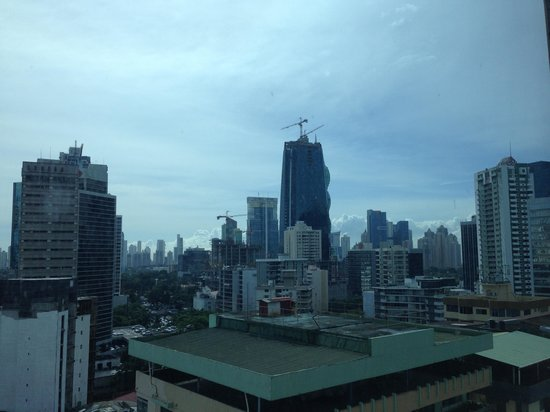 Eurostars Panama City : view from my room
