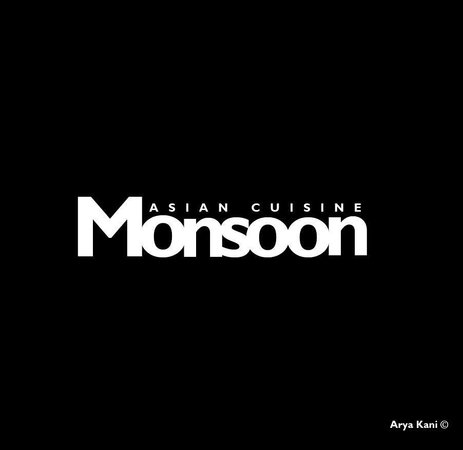 Monsoon Restaurant's Official Logo by Arya Kani