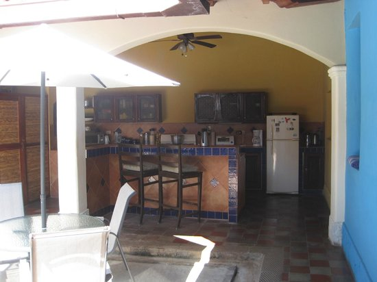 Casa Silas B & B: Kitchen area