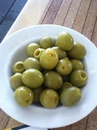 Restaurant La Calma Chill Out : Stuffed Olives