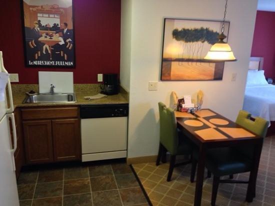 Residence Inn Boston Westford : kitchen