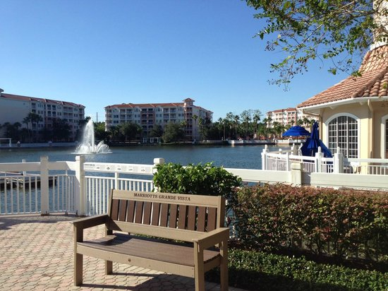 Marriott's Grande Vista: Dock area near main recreation area