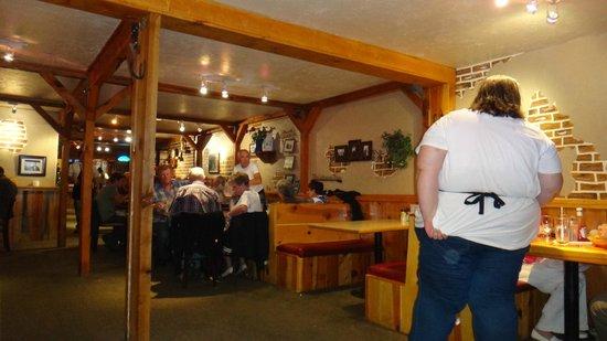 Clarke's Restaurant: all'interno