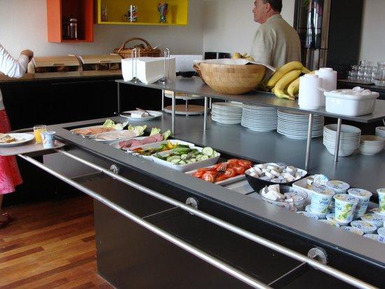 Hotel Copenhagen Crown: The breakfast