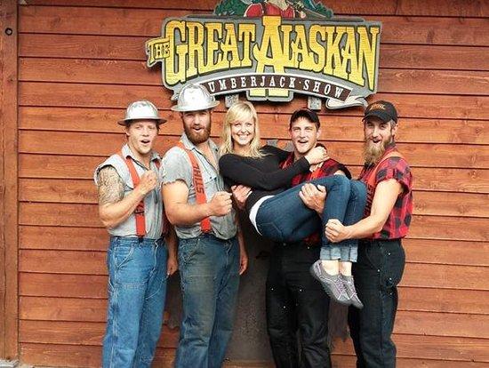 6762ebde27b9 Yo-Ho! - Picture of Great Alaskan Lumberjack Show