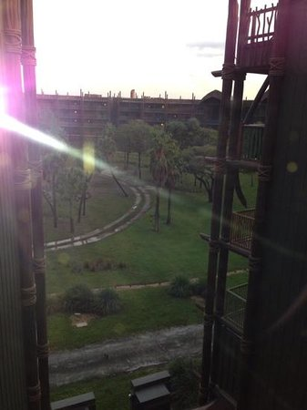 Disney's Animal Kingdom Villas - Kidani Village: 5th floor view
