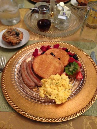 Walking Iron Bed and Breakfast: Breakfast