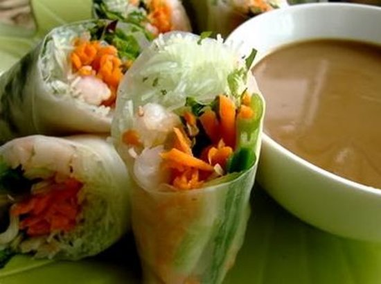 ZINGI Bar and Restaurant: Vietnamese Summer Rolls