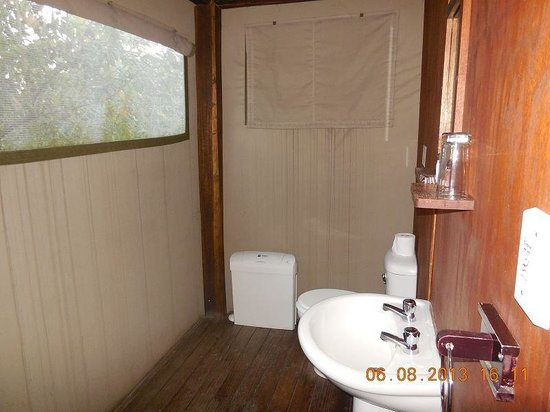 Nkambeni Safari Camp : sanitäre
