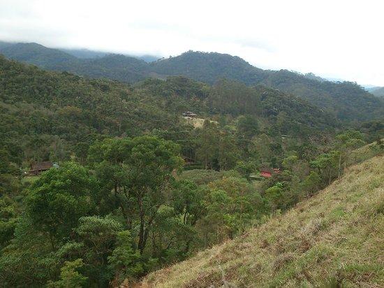 Pousada Fazenda Rio das Pedras: Vista do Vale das Cruzes