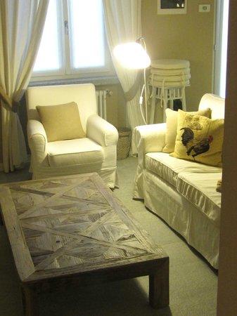 Agriturismo Castello di Vezio: Living Room
