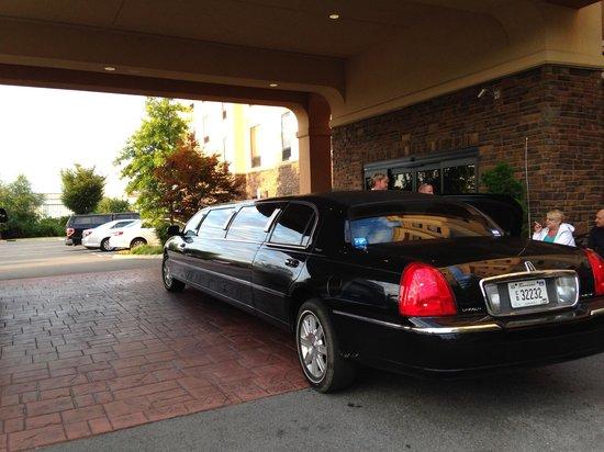 Hampton Inn & Suites Nashville @ Opryland: Training ride