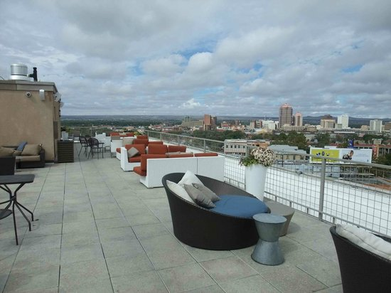 Hotel Parq Central: Rooftop
