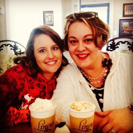 Linger Coffee House: Carmel Apple Lattes - Yum!