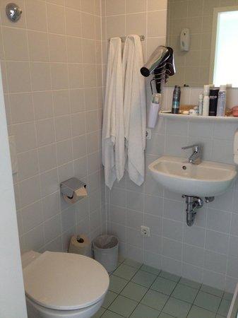Wombat's Munich: Secador e roupa de banho
